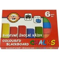 Školní křída barevná 112505 6 barev