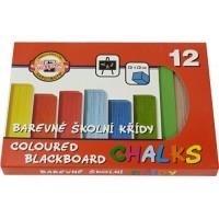 Školní křída barevná 112506 12 barev
