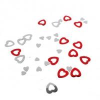 Konfety lesklé Srdce 10g 66811