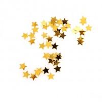 Konfety lesklé zlaté Hvězdy 10g 66890