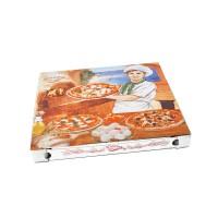 Pizza krabice z vlnité lepenky 32,5x32,5x3cm/100ks 71932
