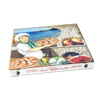 Pizza krabice z vlnité lepenky 40x40x43cm/100ks 71940