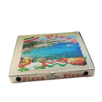 Pizza krabice z vlnité lepenky 46x46x5cm/100ks 71945