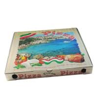 Pizza krabice z vlnité lepenky 50x50x5cm/100ks 71950