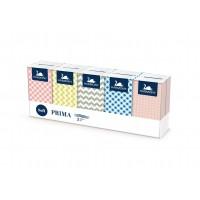 Papírové kapesníky Harmony Prima 3-vrstvé /10x10ks