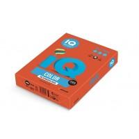 Barevný papír IQ Color č.09 A4 80g cihlově červená