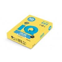 Barevný papír IQ Color č.39 A4 160g kanárkově žlutá