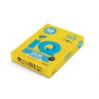 Barevný papír IQ Color č.50 A4 160g žlutá
