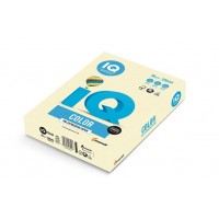 Barevný papír IQ Color č.66 A4 160g vanilková