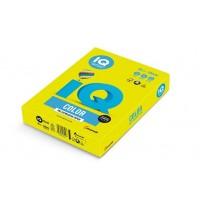 Barevný papír IQ Color  A4 80g neonově žlutá