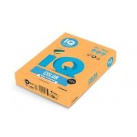 Barevný papír IQ Color  A4 80g neonově oranžová