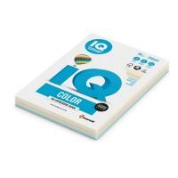 Mix pastelových barevných papírů IQ Color A4 80g 5x50 listů