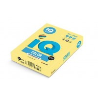 Barevný papír IQ Color č.34 A4 160g citrónově žlutá
