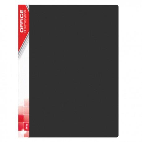 Katalogová kniha Office Products A4 20 kapes černá