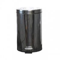 Nerezový odpadkový koš nášlapný s víkem 5 litrů