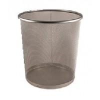 Kovový odpadkový koš 24 litrů černý