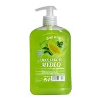 Tekuté mýdlo s dávkovačem Grep & Čaj 500ml
