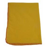 Prachovka flanelová 32x42cm žlutá