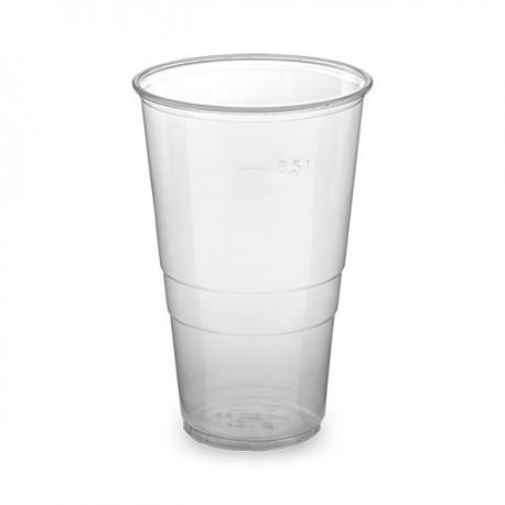Kelímek průhledný PP 0,5 litru/50ks 73216