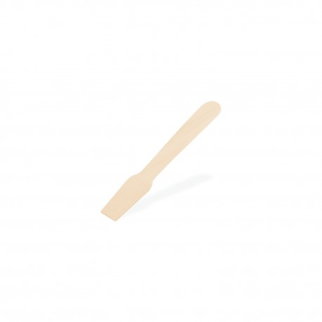 Dřevěná zmrzlinová lžička 9,5cm/500ks 66734