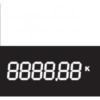 Cenovka papírová digitální 4,5x9cm/50ks