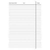 Stavební a montážní deník A4 číslovaný NCR 60 listů