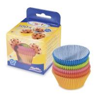 Cukrářské košíčky barevné 50x30mm 100ks 65551