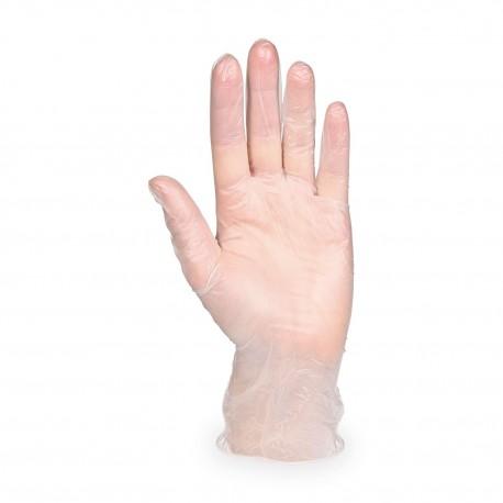 "Vinylové rukavice nepudrované ""L"" bilé/100ks 68127"