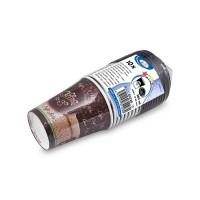 """Papírový kelímek """"Coffee to go"""" 280ml ø 80mm + černé víčko/2x10ks 82228"""