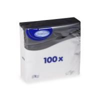 Ubrousky 30x30cm bílé/100ks 70330