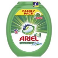 Ariel gelové kapsle Mountain Spring 80ks